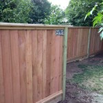 Perfect Fence Company Built This Cedar Picture Frame Fencing.